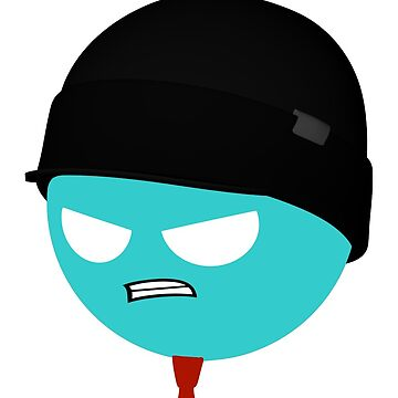 Pissed-Off Miketastic Face Sticker by Sticktastic