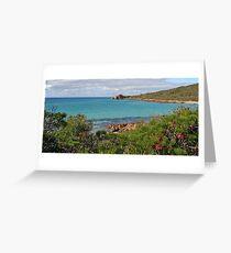 Meelup to Castle Rock, Dunsborough in Western Australia. Greeting Card