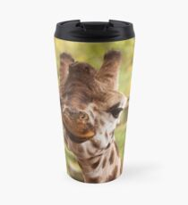 Hilarious Giraffe - Nature Photography Travel Mug