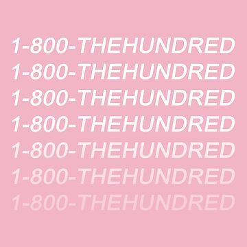 The 100 - The Hundred Hotline Bling by alyciadebnam