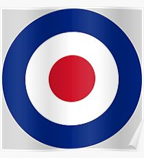 RAF Roundel Poster