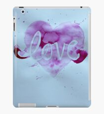 Love. iPad Case/Skin
