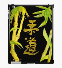 JuDo - the gentle way in black iPad Case/Skin