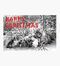 HAPPY CHRISTMAS 5 Photographic Print