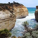 Great Ocean Road scenery ... near Loch Ard Gorge by gaylene