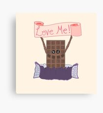 For the Love of Chocolate Canvas Print