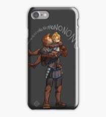 Dwarves Don't Do Heights iPhone Case/Skin