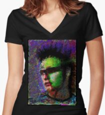 Marlon Brando. Women's Fitted V-Neck T-Shirt