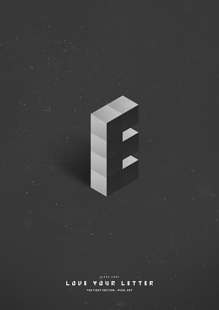 E - Pixel Art by SHIRĀZ & DĀRYĀN