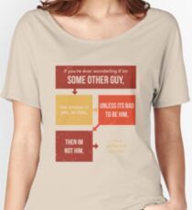 tweets by @dril - Some Other Guy Women's Relaxed Fit T-Shirt