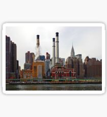 NYC - Manhattan from East River Sticker