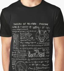 Theory of relativity : spacetime Graphic T-Shirt