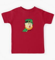 Y U No St Paddy's Day Leprechaun Kids Tee