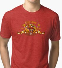 Crazy Drums Tri-blend T-Shirt