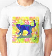 Cubist Cat Unisex T-Shirt