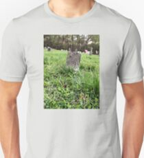 "'""THE CEMETERY, a Series', No. 4, A Lone Stone""... prints and products T-Shirt"