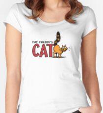 Fat Freddy's Cat Women's Fitted Scoop T-Shirt