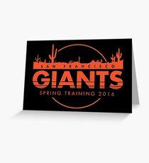 San Francisco Spring Training  Greeting Card
