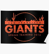 San Francisco Spring Training  Poster