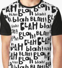 Blah blah  blah seamless pattern. And so on. Graphic T-Shirt
