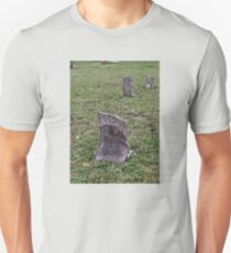 """'""""THE CEMETERY, a Series', No. 6, Broken Stone""""... prints and products T-Shirt"""