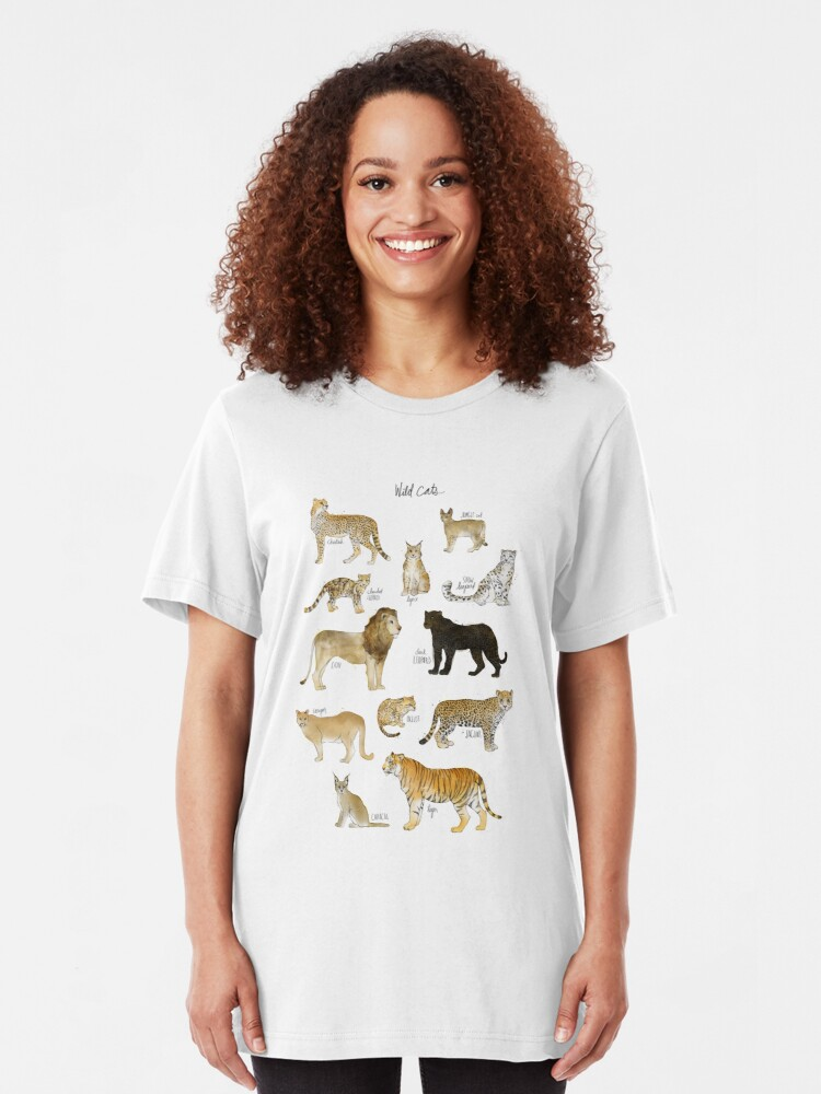 Alternate view of Wild Cats Slim Fit T-Shirt