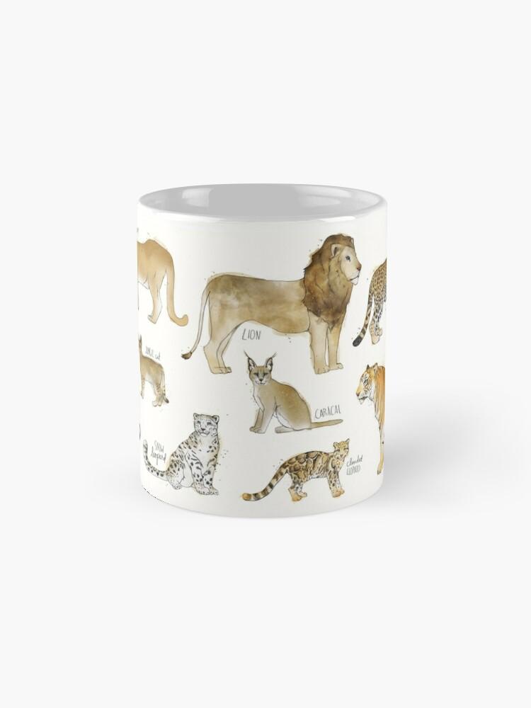 Alternative Ansicht von Wilde Katzen Tassen