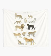 Wild Cats Wall Tapestry