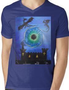 The all seeing eye Mens V-Neck T-Shirt