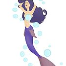 A Mermaid and her Bubbles by ToxicMaiden