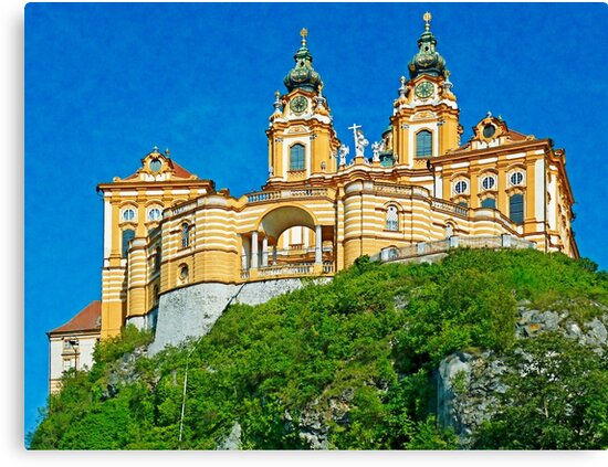 Austria - Melk abbey by leobrix