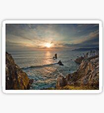 Achill Island Sunset Sticker