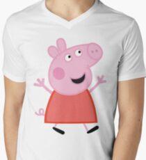 Peppa Men's V-Neck T-Shirt