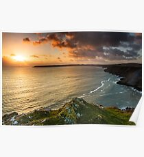 Oxwich Bay, Gower Poster
