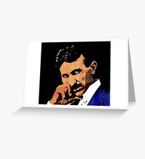 Nikola Tesla-2 Greeting Card