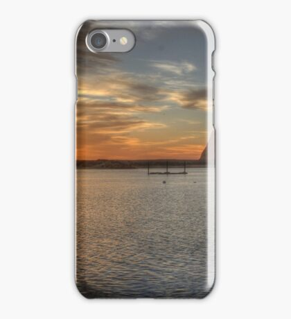 Morro Bay Rock Sunset HDR iPhone Case/Skin