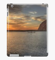 Morro Bay Rock Sunset HDR iPad Case/Skin