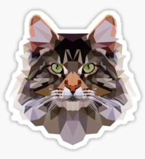 Maine coon Sticker