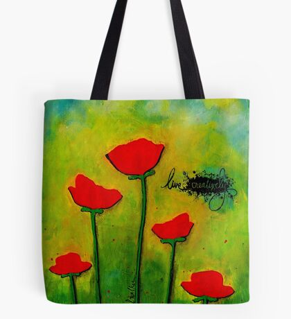 LIVE Creatively Tote Bag