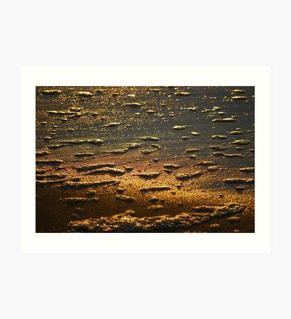 Dawn Water 'Whitewash' Art Print