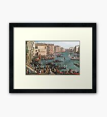 Venice art Framed Print