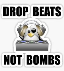Drop Beats Sticker