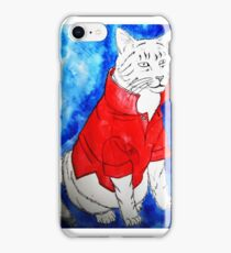 Popped Collar Cat iPhone Case/Skin