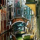 Pictorial Venice - timeless perspective  by Luisa Fumi