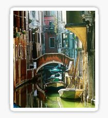Pictorial Venice - timeless perspective and beautiful lanscape Sticker