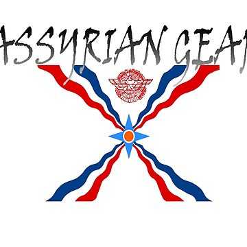 Assyrian Gear With Flag by AssyrianGear