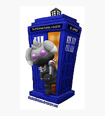 The Espurr Winter Doctor Soldier Photographic Print