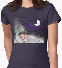 Girl's Dream Sequence Womens Fitted T-Shirt