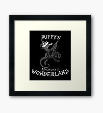 Buffy's  Adventures in Wonderland II Framed Print
