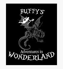 Buffy's  Adventures in Wonderland II Photographic Print